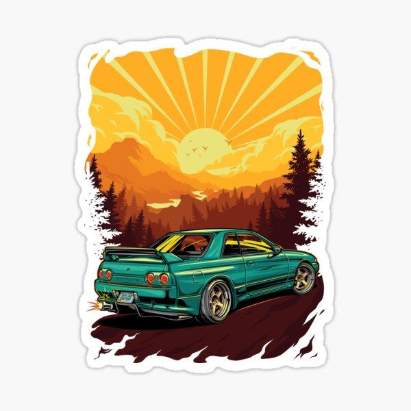 Nissan Skyline R32 BNR Sticker
