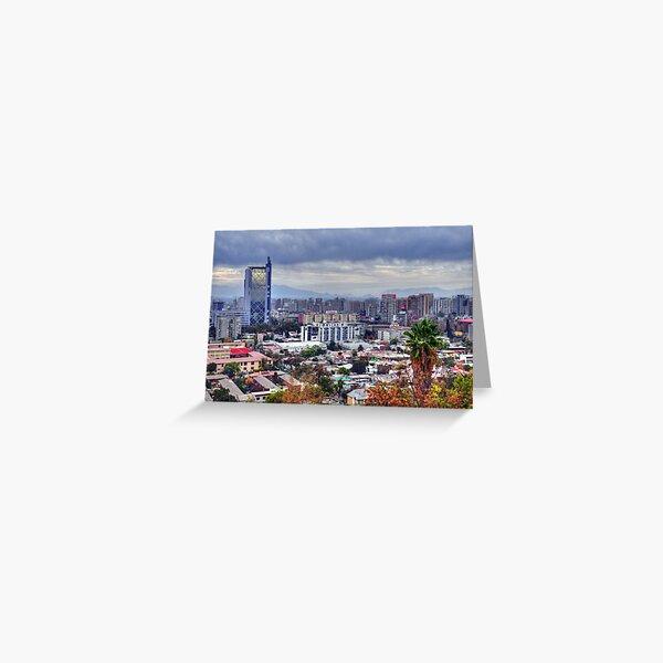 HDR, Santiago de Chile, Greeting Card
