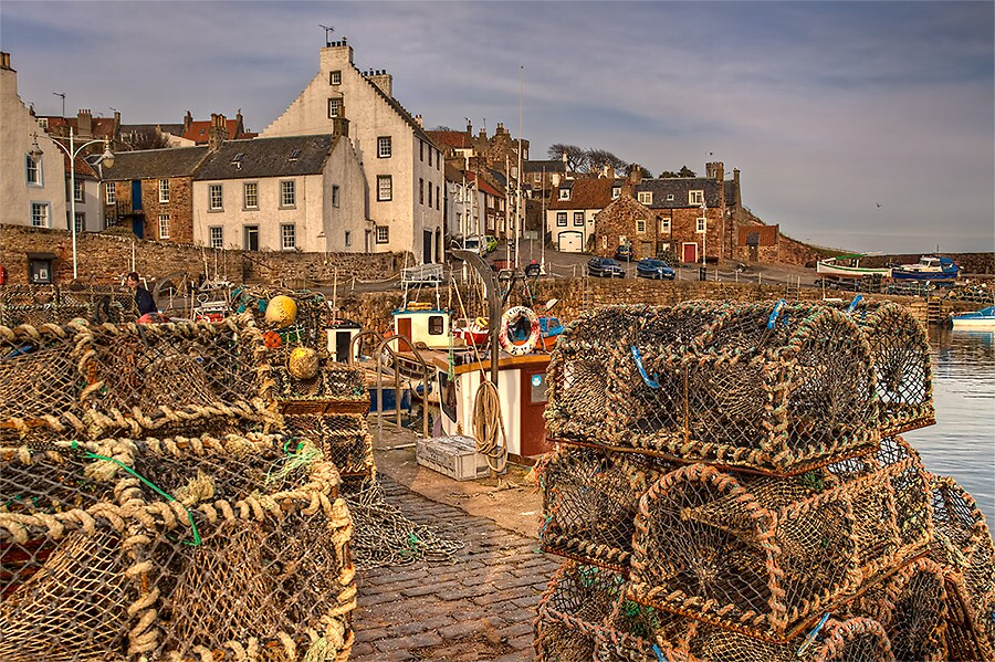 FISHING POTS by Lynden