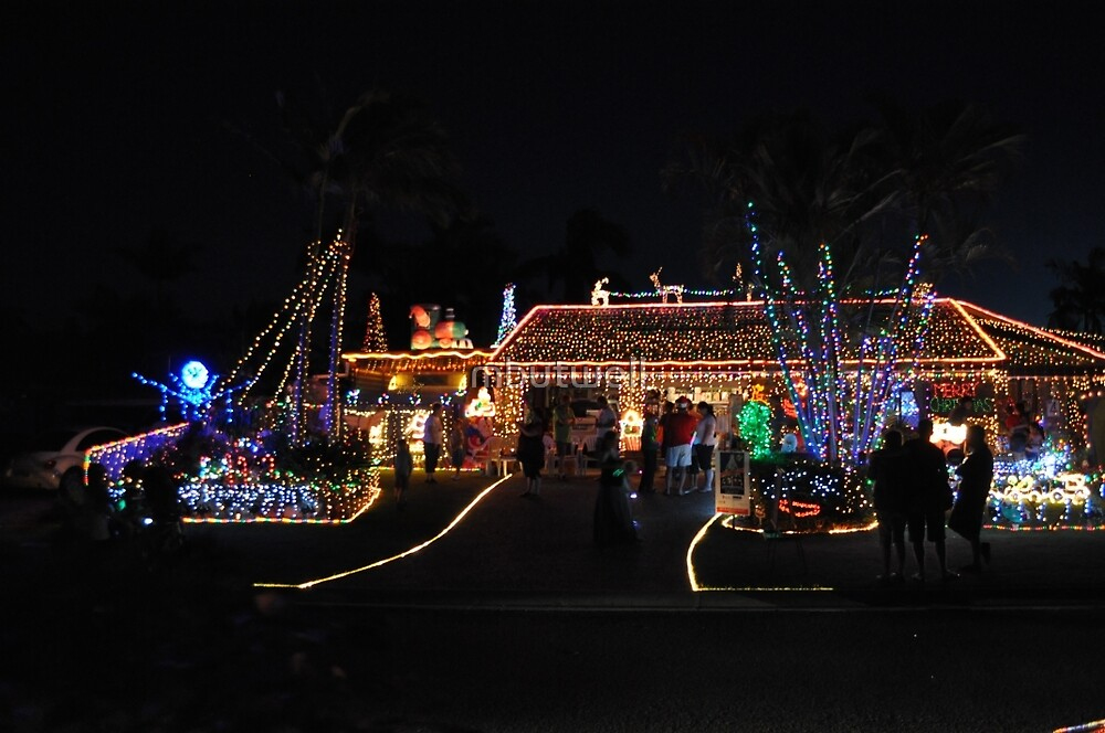3rd Place Winner Chistmas Lights Comp by mbutwell