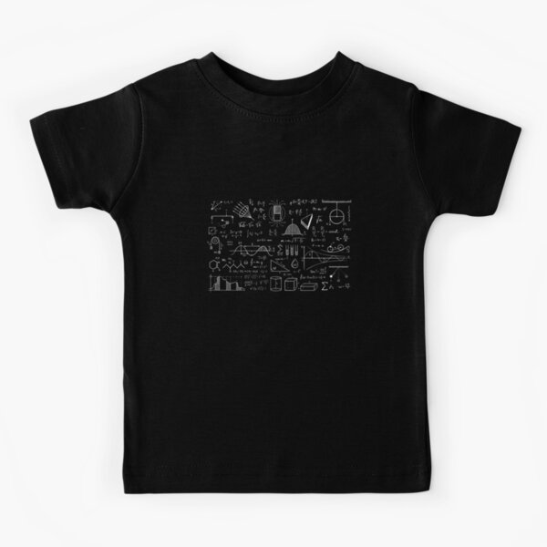 Science Physics Pattern  Kids T-Shirt
