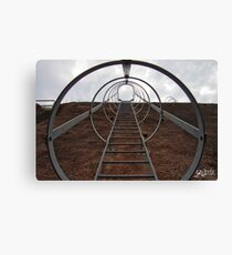 Stairs to the heaven?? Canvas Print