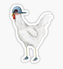 Spring Chicken Sticker