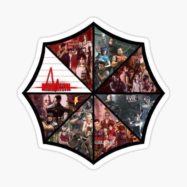 Resident Evil Pegatina