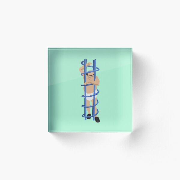 Trapped  Acrylic Block