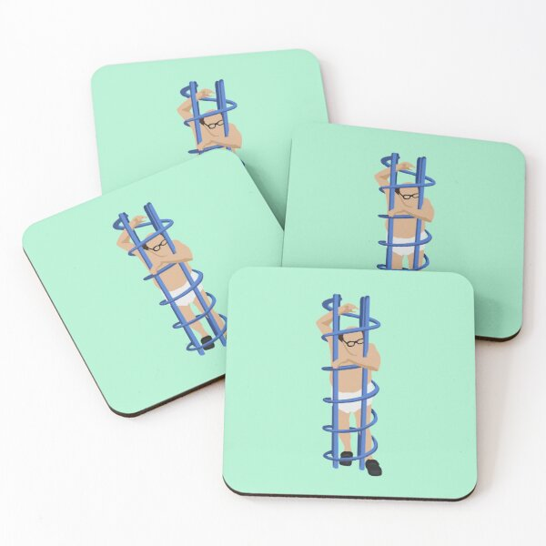 Trapped  Coasters (Set of 4)