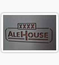 XXXX Ale House Sticker