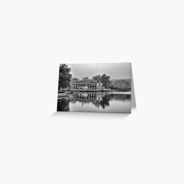 Kennebunkport - from the bridge Greeting Card