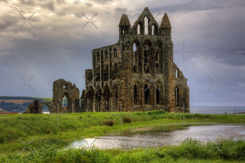 Whitby Abbey by Tom Gomez
