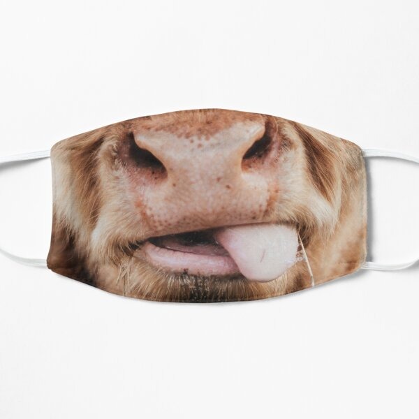 Cow Nose Face Mask Flat Mask
