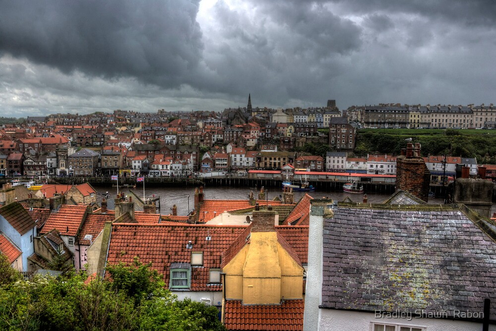 """""""Brewing Over the Rooftops"""" by Bradley Shawn  Rabon"""