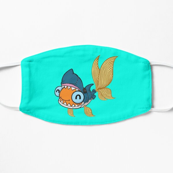 Goldfish in a Shark Costume! Small Mask