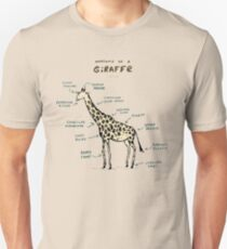 Anatomy of a Giraffe Unisex T-Shirt
