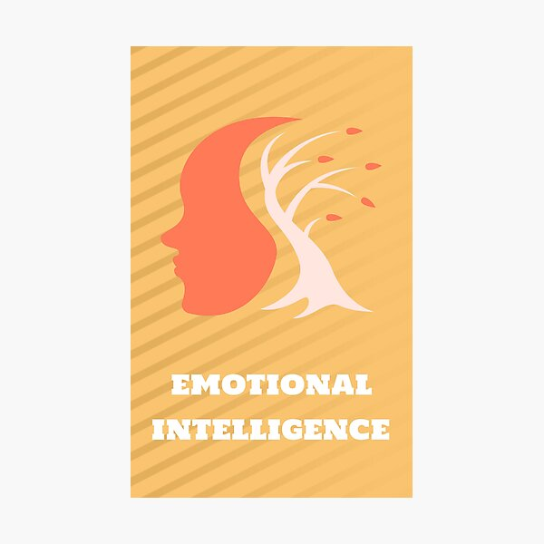Emotional intelligence meaning Photographic Print