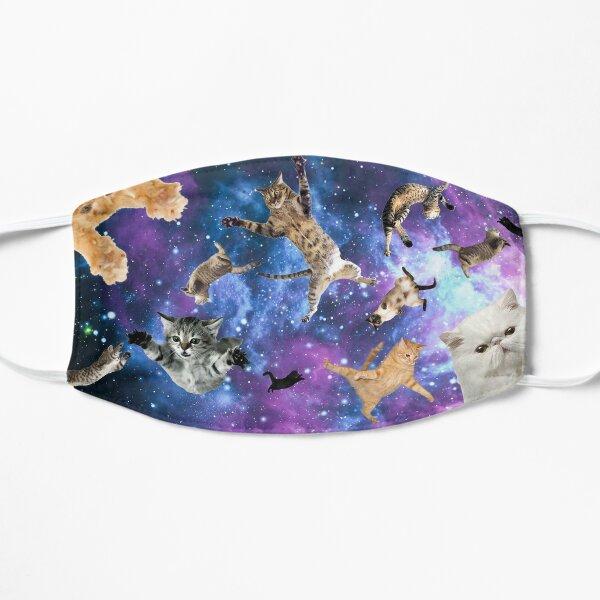 Chats spatiaux Masque sans plis