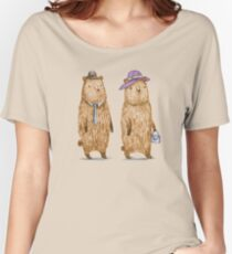 Bear Couple Women's Relaxed Fit T-Shirt