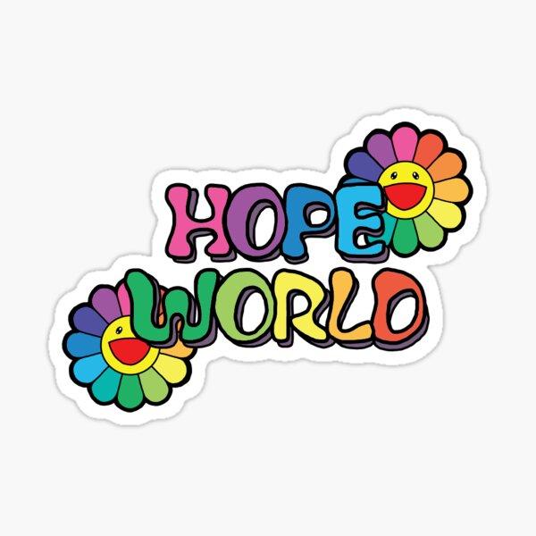 HOPE WORLD  Sticker