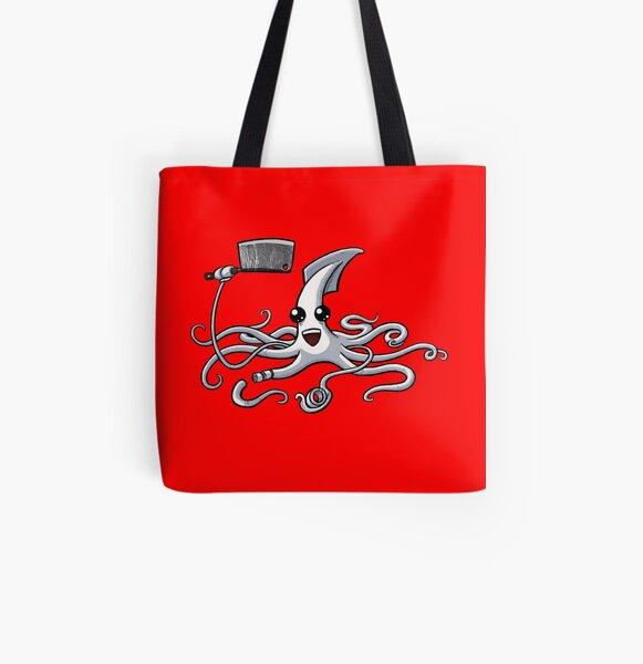 Calamari Master All Over Print Tote Bag