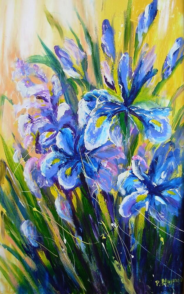 Blue Iris by patty123