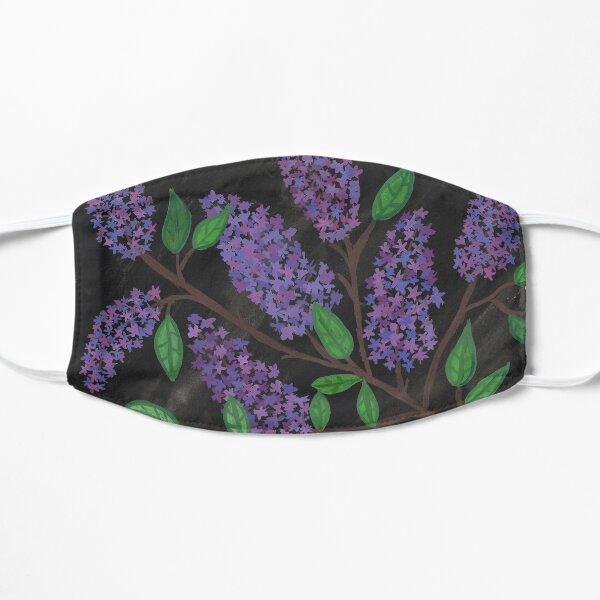 Lilacs on black background Mask