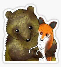Timothy & Foxy Sticker