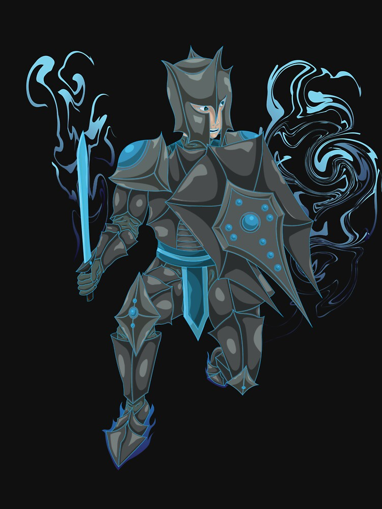 Black Knight Graphic Tee. by djg5286