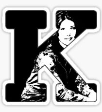 K is for Kaylee Sticker