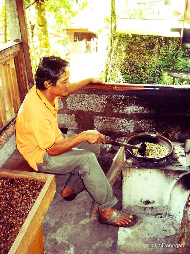 Bali Coffee Beans by Luke Donegan