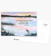Comfort - John 14:1 Postcards