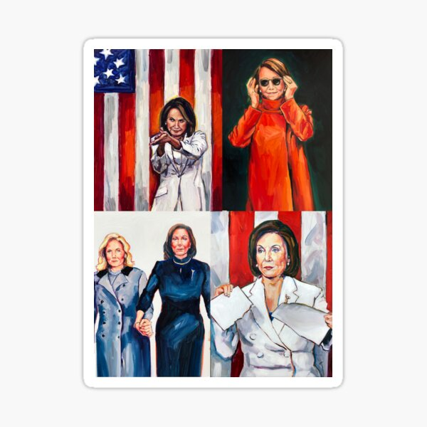 Speaker Pelosi's Greatest  Hits Sticker