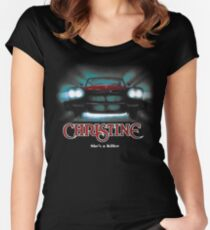 Awesome Movie Car Christine Women's Fitted Scoop T-Shirt