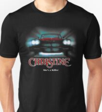 Ehrfürchtiges Filmauto Christine Slim Fit T-Shirt