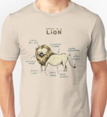 Anatomy of a Lion T-Shirt