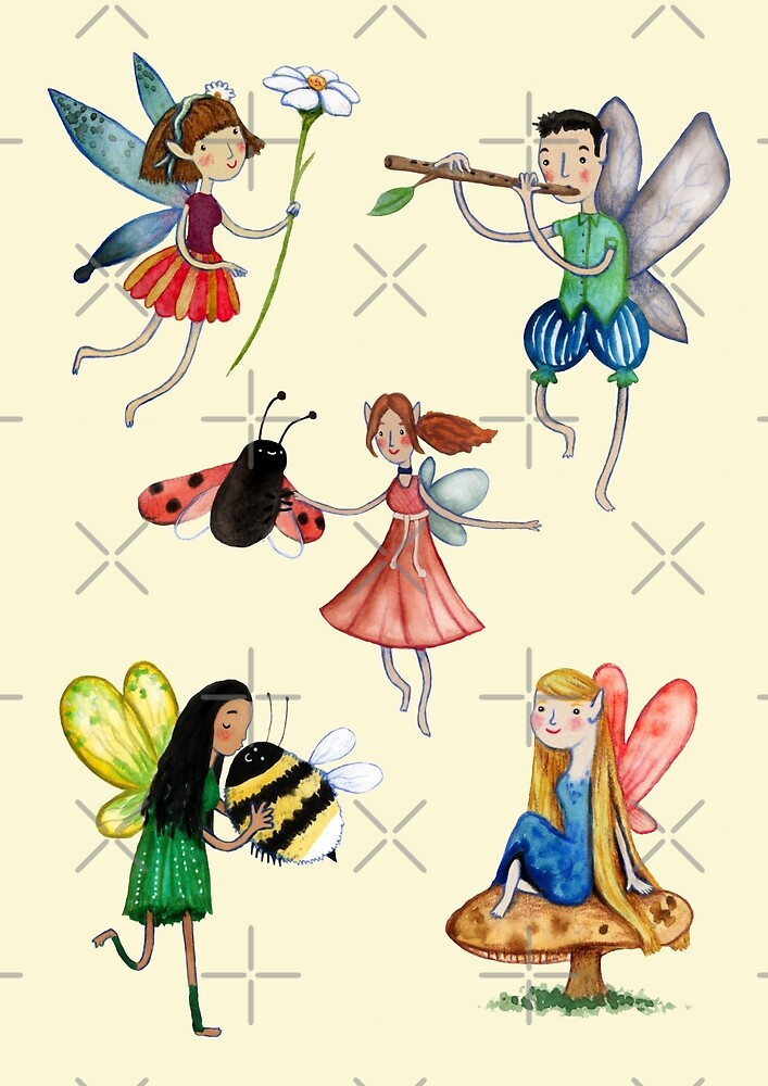Fairies by Sophie Corrigan
