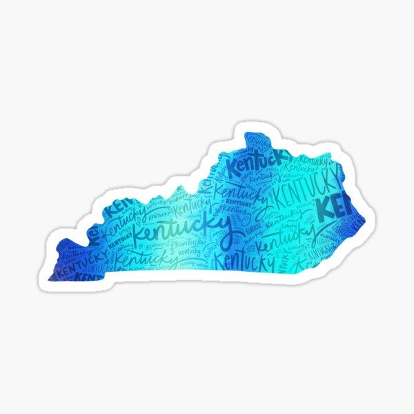 Copy of Stripes of Kentucky Sticker