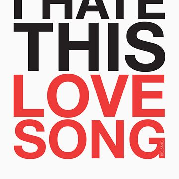 Big Bang - Love Song (Black) by AsymApparel