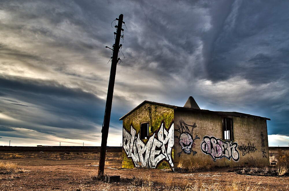 Abandoned on the plains. by MarcPeck