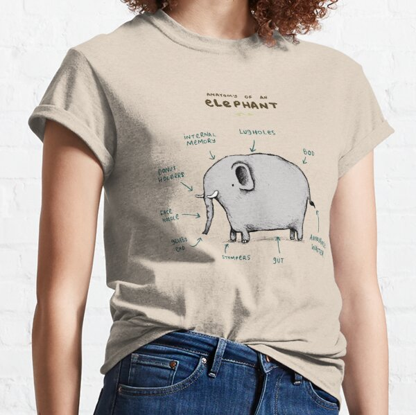 Anatomy of an Elephant Classic T-Shirt
