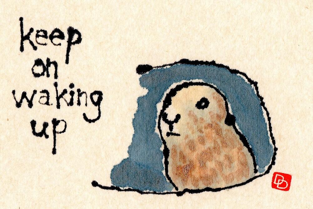 Groundhog Wisdom by dosankodebbie