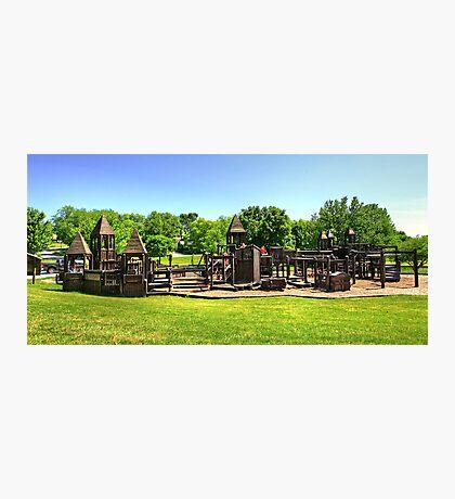 Castle Playground Photographic Print