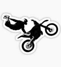 Freestyle Flying MX Motocross Sticker