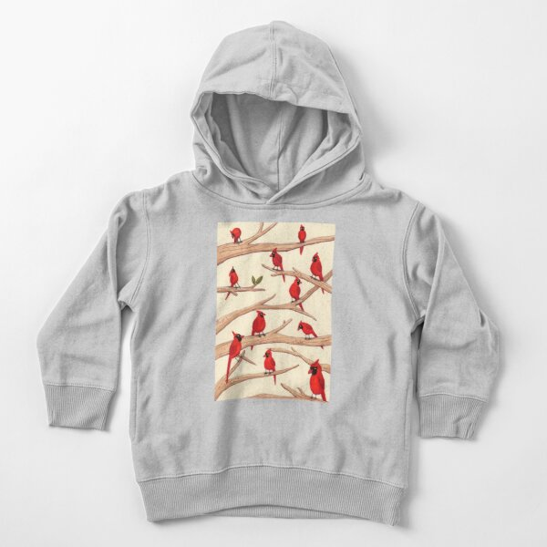 Cardinals Toddler Pullover Hoodie