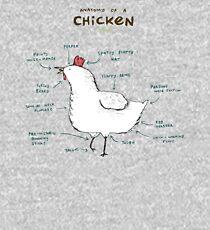 Anatomy of a Chicken Kids Pullover Hoodie