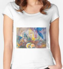 "Time 13, ""Essence of Life"" Women's Fitted Scoop T-Shirt"