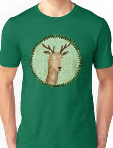 Deer Portrait Unisex T-Shirt