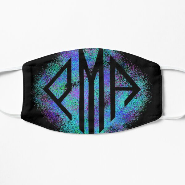 PMA Colorful Paint Splatter Design Mask