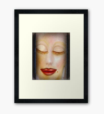 dreams of love and passion ............ Framed Print