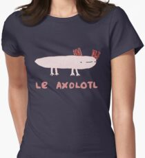 Le Axolotl Womens Fitted T-Shirt