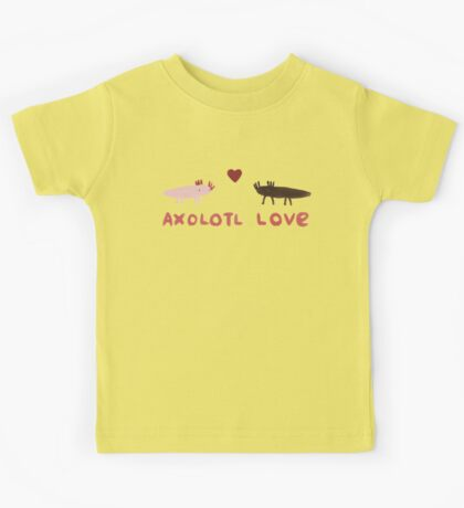 Axolotl Love Kids Clothes