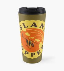 Island Hoppers /yellow Travel Mug